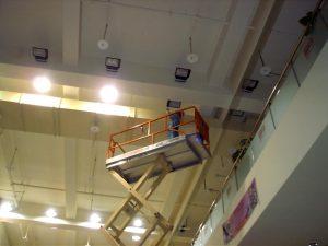 學校禮堂2 立大高空作業車